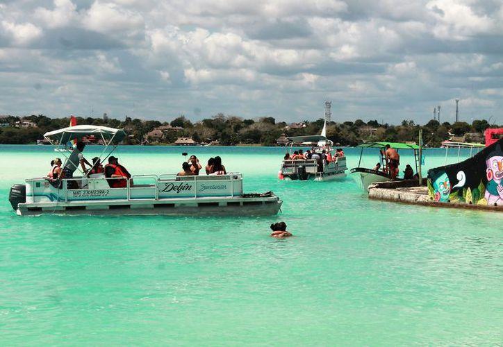 Buscan mitigar el impacto del turismo en la laguna y sus ecosistemas. (Javier Ortiz/SIPSE)