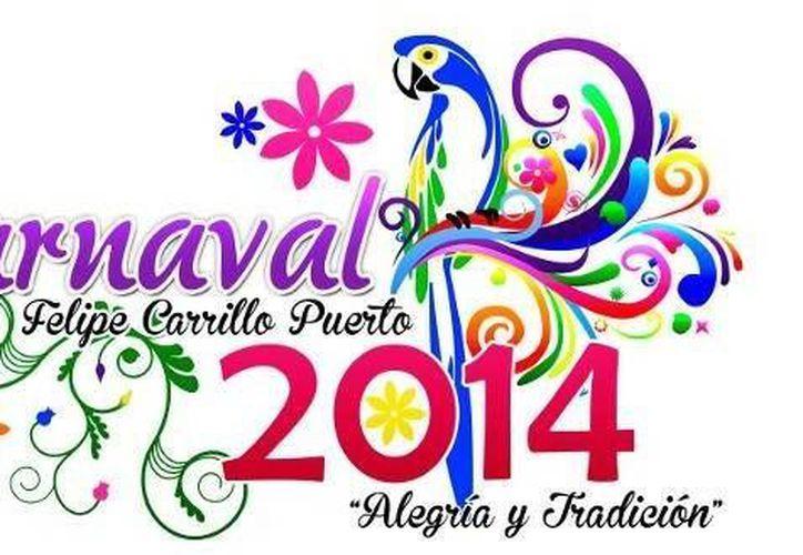 El Carnaval de Felipe Carrillo Puerto se desarrollará del 1 al 4 de marzo. (Cortesía/SIPSE)
