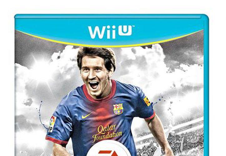 Los jugadores interactúan con lo proyectado en el televisor y en el control. (Agencia Reforma)