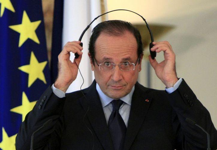 Francois Hollande saludo la adecisión de la Suprema Corte de México. (Archivo/AP)