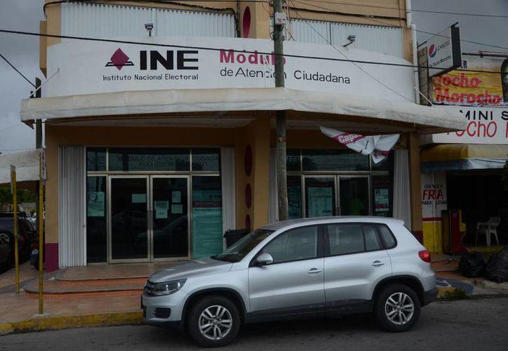 Para efectos electorales y de credenciales de elector, el INE considera únicamente ocho municipios de Quintana Roo. (Gerardo Amaro/SIPSE)