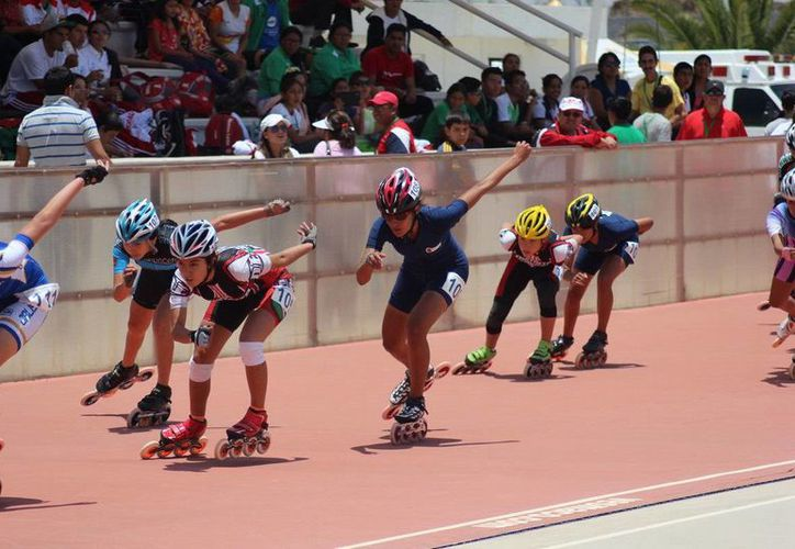 El equipo de patines participó en un clasificatorio a la Olimpiada Nacional y Nacional Juvenil. (Redacción/SIPSE)