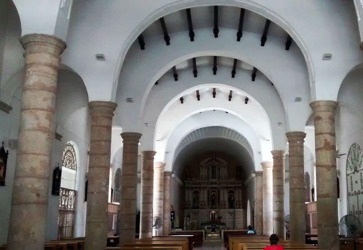 Para todo cristiano, Cristo es indispensable. Imagen de la Iglesia de Santiago, en Mérida, utilizada sólo como contexto. (Eduardo Vargas/SIPSE)