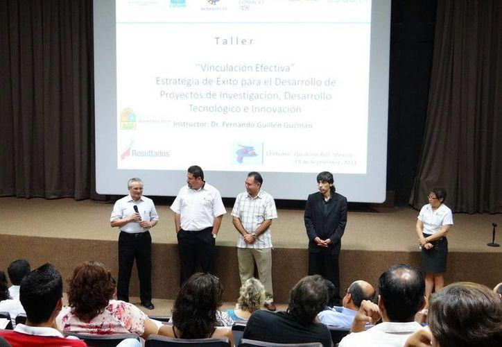 El taller fue elaborado por el Coqcyt, Conacyt y el Centro de Competitividad e Innovación de la Caname, (CCI). (Redacción/SIPSE)