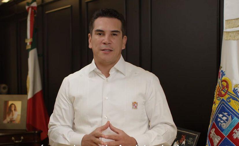 Rafael Alejandro Moreno Cárdenas pidió licencia para contender por la dirigencia nacional de Partido Revolucionaria Institucional (PRI). (Impresión de pantalla/Facebook)
