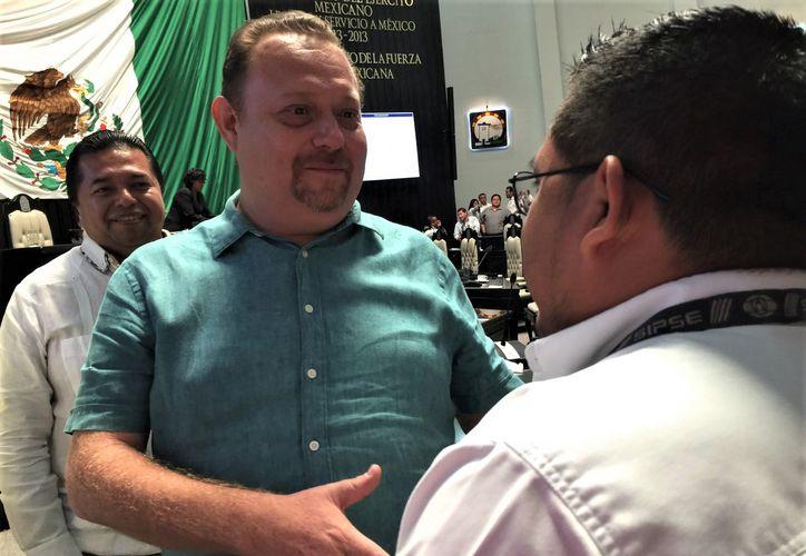 El presidente de la Cdheqroo celebró que el periodista haya denunciado al legislador a pesar de que le pidió disculpas. (Foto: Redacción/SIPSE)