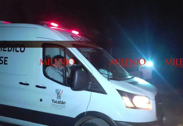 Personal del Servicio Médico Forense (Semefo), llevó a cabo el levantamiento del cadáver y se retiró del lugar cerca de las 19:30 horas. (Fotos: Gerardo Keb/Milenio Novedades)