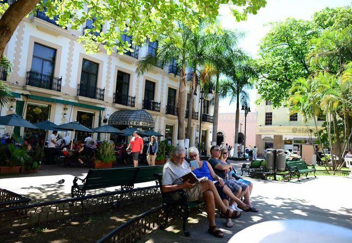 Desde noviembre, Mérida recibe importante cantidad de visitantes. (Milenio Novedades)