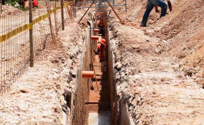 Este año se realizarán obras de infraestructura de tratamiento de aguas residuales e instalación de drenaje sanitario. (Redacción/SIPSE)