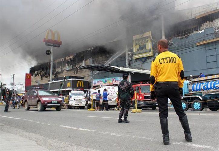 El centro comercial se ubica en la ciudad de Davao, en el sur del país. (vanguardia.com)