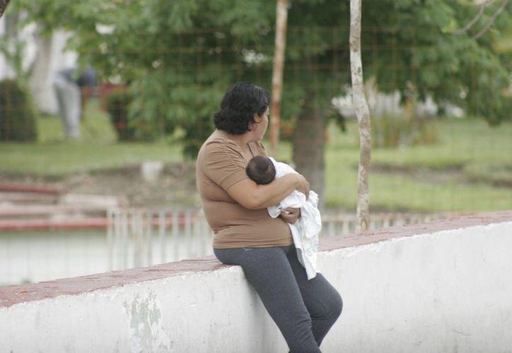 Especialistas promueven la lactancia hasta los seis meses de edad. (Harold Alcocer/SIPSE)