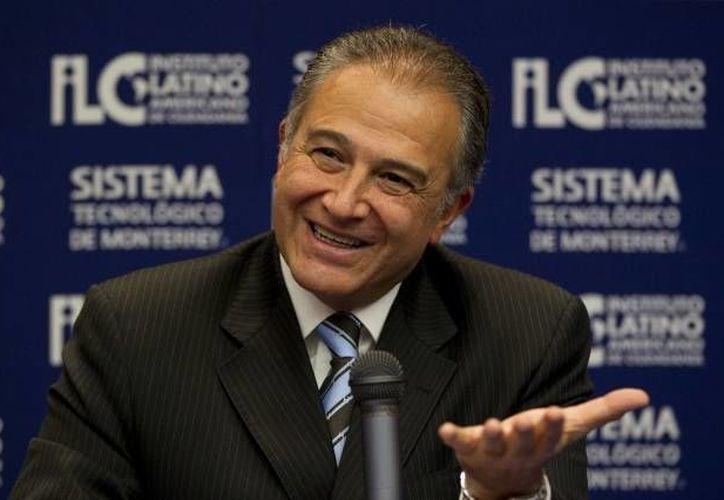 El general colombiano señala que el objetivo es proteger la vida de los mexicanos. (Archivo/SIPSE)
