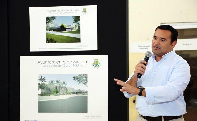 Renán Barrera señaló que el nuevo centro estará ubicado en el poniente de la ciudad. (Milenio Novedades)
