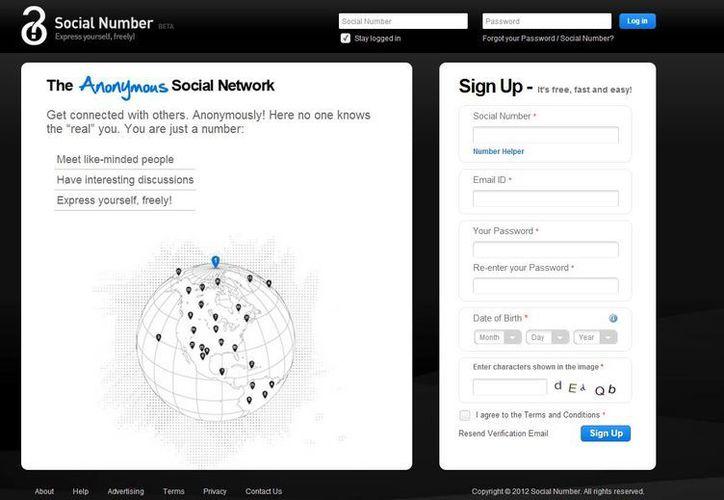 El sitio pretende que los usuarios puedan discutir cualquier tema. (Captura de pantalla)