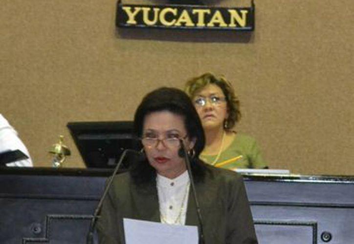 La diputada panista Sofía Castro Romero indicó que el reto en este período es que todas las voces del Congreso sean escuchadas. (Cortesía)