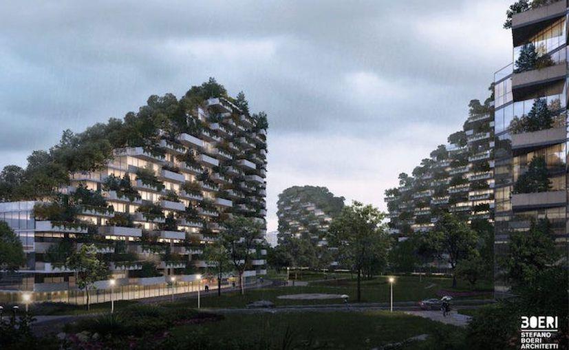 Forest City ayudará a disminuir la temperatura promedio del aire. (Contexto/Internet).