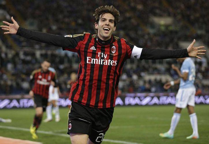 Kaká volverá a jugar en el Sao Paulo, equipo en el que militaba cuando en el 2003 partió a Italia. (AP)