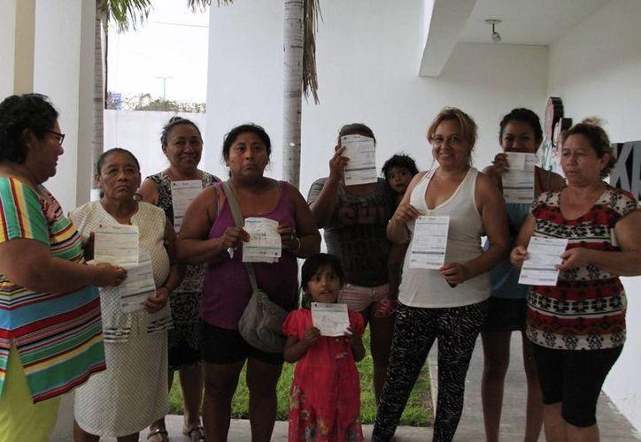 Más de 310 hogares se quedaron sin el suministro de agua potable. (Ángel Castilla/SIPSE)