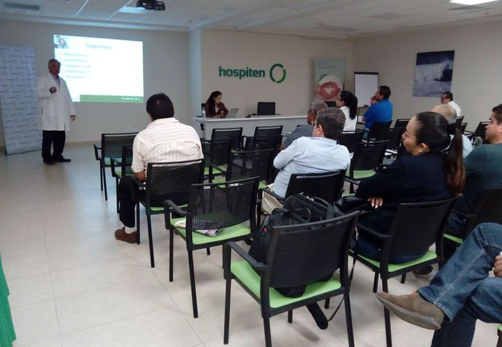 """Realizaron la ponencia titulada """"Salud prostática"""" en el Hospiten Cancún. (Redacción/SIPSE)"""