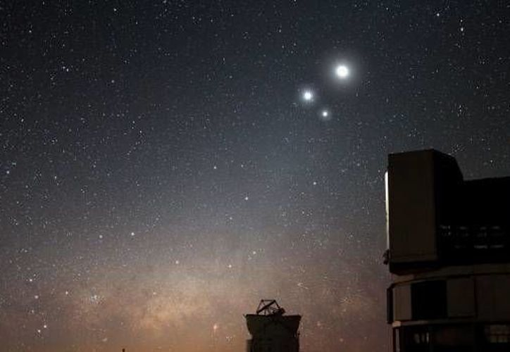 El acercamiento entre Venus y Júpiter iniciará minutos después del ocaso solar y se apreciará a simple vista por alrededor de una hora. (Imagen de contexto entre www.cienciaxplora.com)