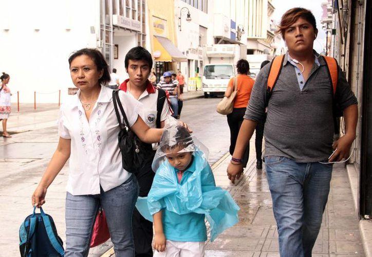 La Conagua pronostica una semana calurosa pero con lluvias ligeras en Yucatán. (SIPSE)