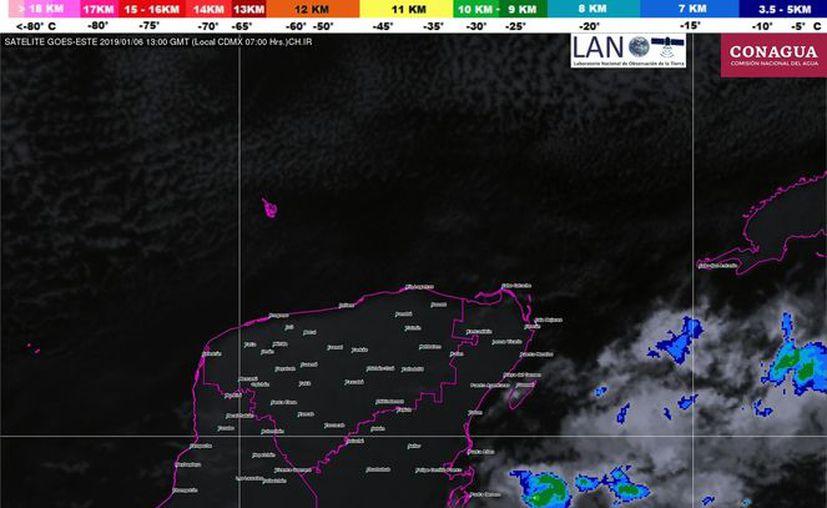 Por la tarde se espera la formación de nubosidad y algunos chubascos. (Servicio Meteorológico Nacional)