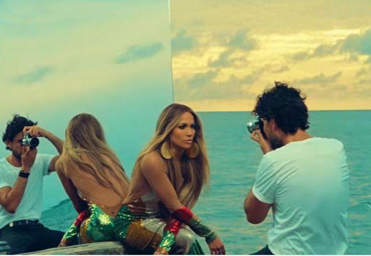 El video musical está protagonizado por Jennifer y el actor mexicano Khotan Fernández. (Foto: YouTube)