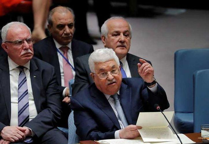El plan pasa igualmente por la implementación de la iniciativa de paz impulsada por los países árabes. (Excélsior)