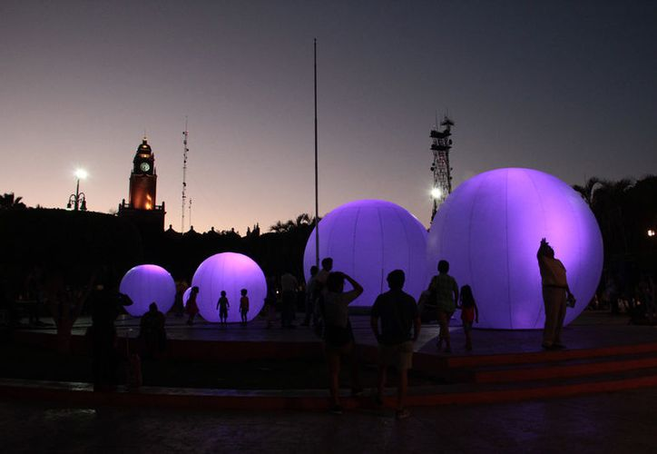 El Jardín Lunar se ubicará en el corazón de la ciudad, la Plaza Grande. (Jorge Acosta/ Milenio Novedades)