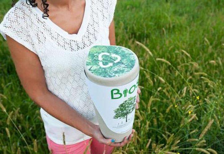 Bios Incube permite transformar las cenizas de tu ser querido en una planta. (twitter.com/UrnaBios)