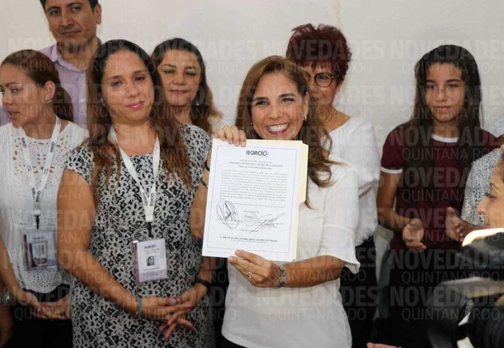 Mara asegura que tendrá mucho ciudadano a la hora de elegir a su gabinete. (Claudia Olavarría)