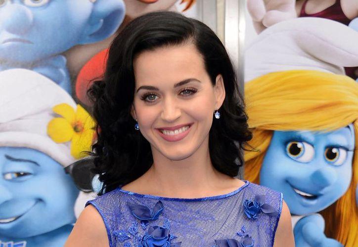 Katy Perry fue una de las cantantes invitadas en la gira de los Rolling Stones este 2013. (Agencias)