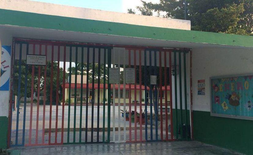 Padres de familia optaron por no llevar a sus hijos a la escuela. (Teresa Pérez/SIPSE)