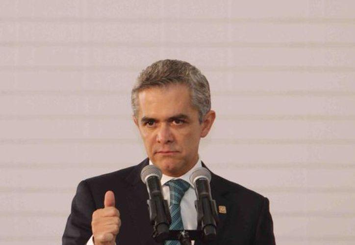 El secretario particular de Mancera aseguró que el jefe de gobierno se encuentra fuerte. (Archivo/Notimex)