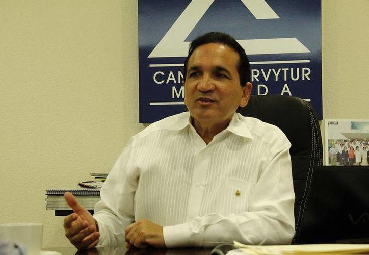 José Manuel López Campos, vicepresidente de la Región Sureste de la Concanaco. (SIPSE)