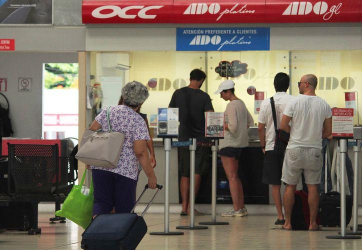 Algunos usuarios podrían tener contratiempo al realizar viajes de conexión  rumbo a Oaxaca. (Foto: Octavio Martínez)