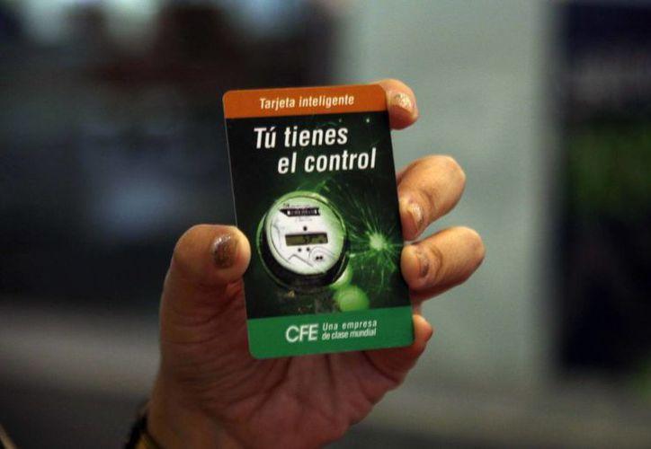 De los medidores instalados, 55 mil 250 funcionan con la denominada tarjeta inteligente. (Israel Leal/SIPSE)