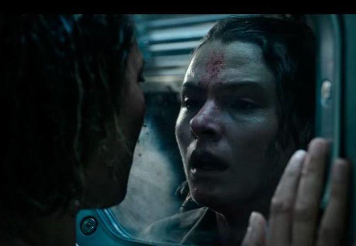 Escena de la cinta 'Alien: Covenant', película cuyo estreno será en 2017. (YouTube/20th Century Fox Trailers)