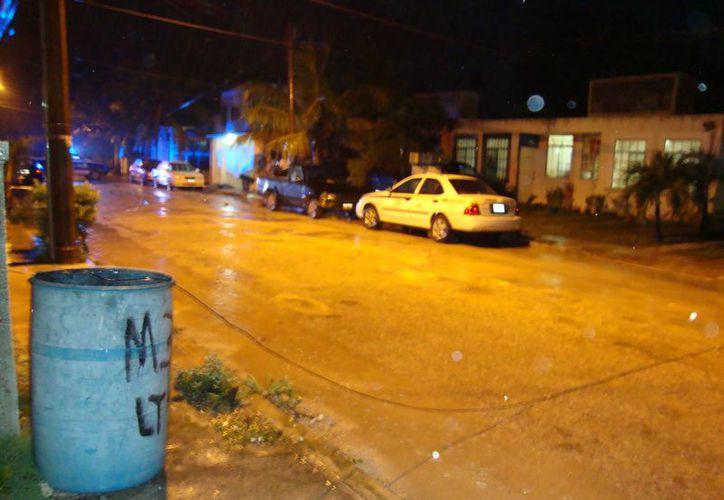 Una de las personas asesinadas fue encontrado en el Fraccionamiento Villas Morelos I. (Redacción/SIPSE)