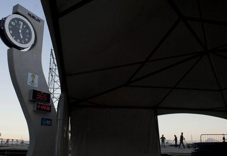 Solo faltan 11 meses para el silbatazo inicial en Sao Paulo, en el partido inaugural del la Copa del Mundo Brasil 2014. (Agencias)