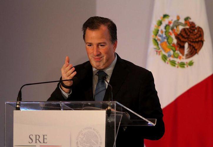 El director de la SRE, José Antonio Meade (foto), hizo el nombramiento del embajador Alejandro Negrín. (Notimex/Archivo)