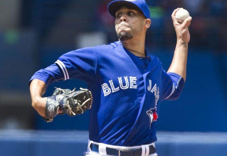 El pitcher David Prize tuvo una impresionante labor con Azulejos de Toronto ante Gemelos de Minnesota. (Foto: AP)