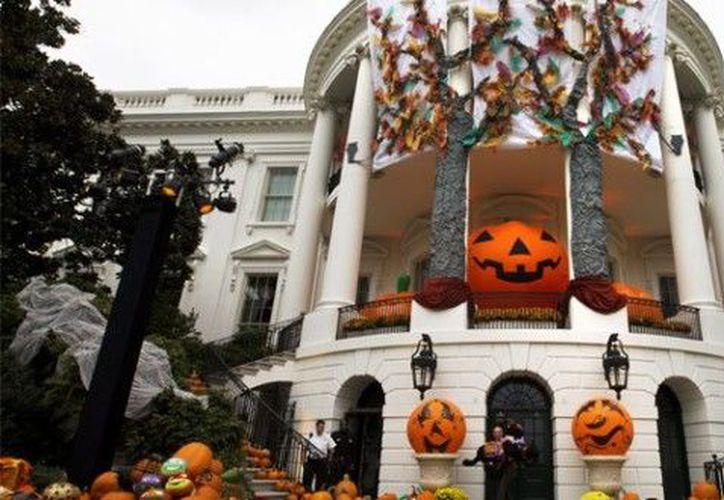 Los jardines de la Casa Blanca estarán decorados con murciélagos, calabazas y telarañas. (Contexto)
