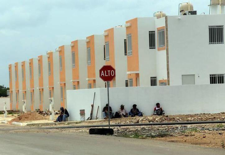 Actualmente se edifican viviendas en diversos puntos de Mérida. (Milenio Novedades)