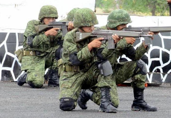Según el IFAI, la información que entregue la Sedena acerca de sus fuerzas especiales debe estar desglosada año por año. (Notimex/Foto de contexto)