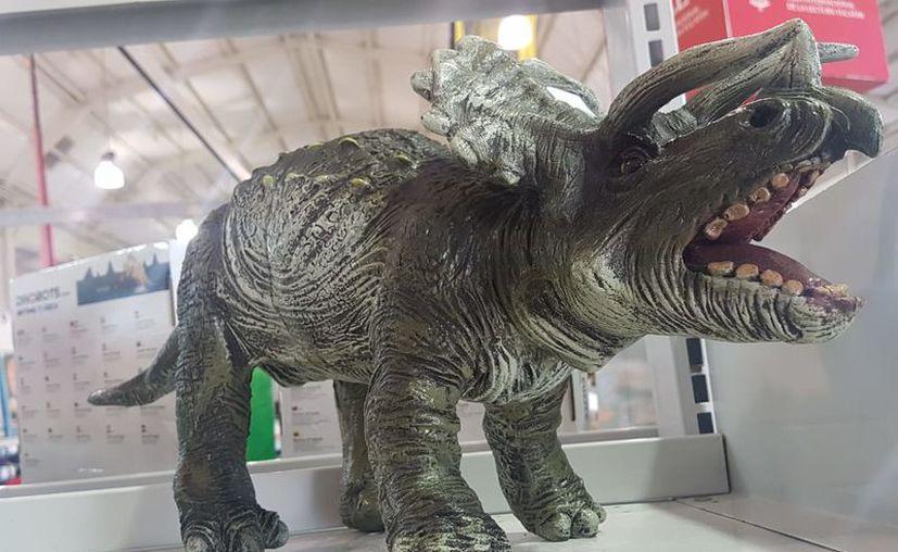 Los dinosaurios son réplicas exactas de los seres vivos. (Milenio Novedades)