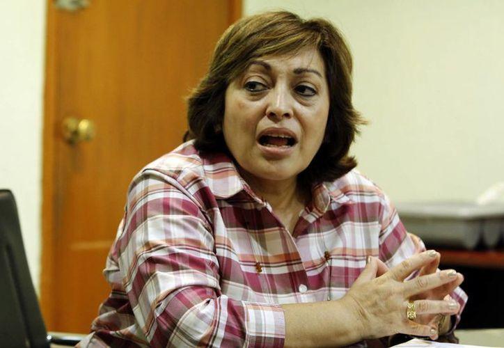 Gabriela Zapata Villalobos, directora de Educación Media Superior, detalló el proceso de evaluación. (Milenio Novedades)