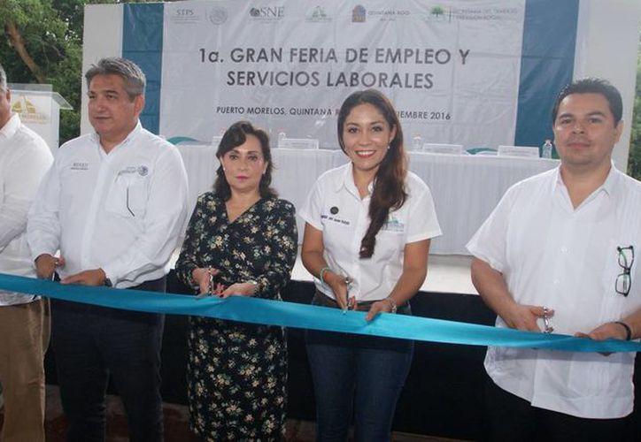 Arrancó esta mañana la Primera Gran Feria de Empleo y Servicios Laborales. (Cortesía/ Redacción)