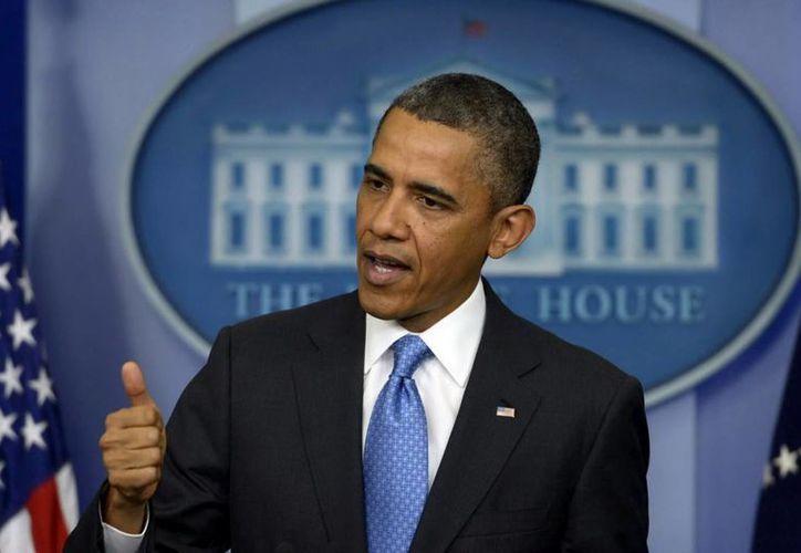 El presidente de EU, Barack Obama, dijo que Rusia está colaborando con la investigación en contra de los presuntos autores de los atentados en Boston. (EFE)