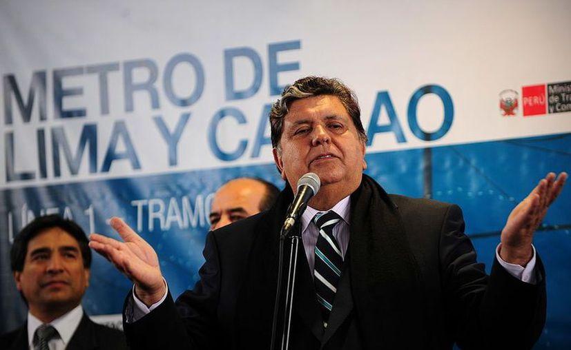 El expresidente de Perú Alan García fue internado de emergencia esta mañana. (CNN)